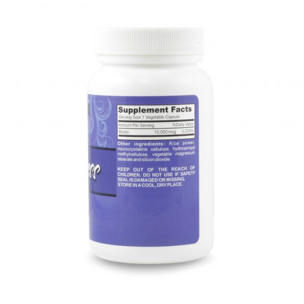 Elongtress Biotin - 10,000mcg - 3 Bottles