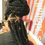 Jumbo braids via @narahairbraiding