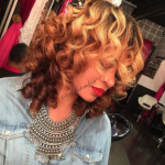 Beautiful golden wand curls via @celebutonhair