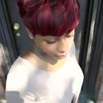 Nice red pixie via @artistry4gg