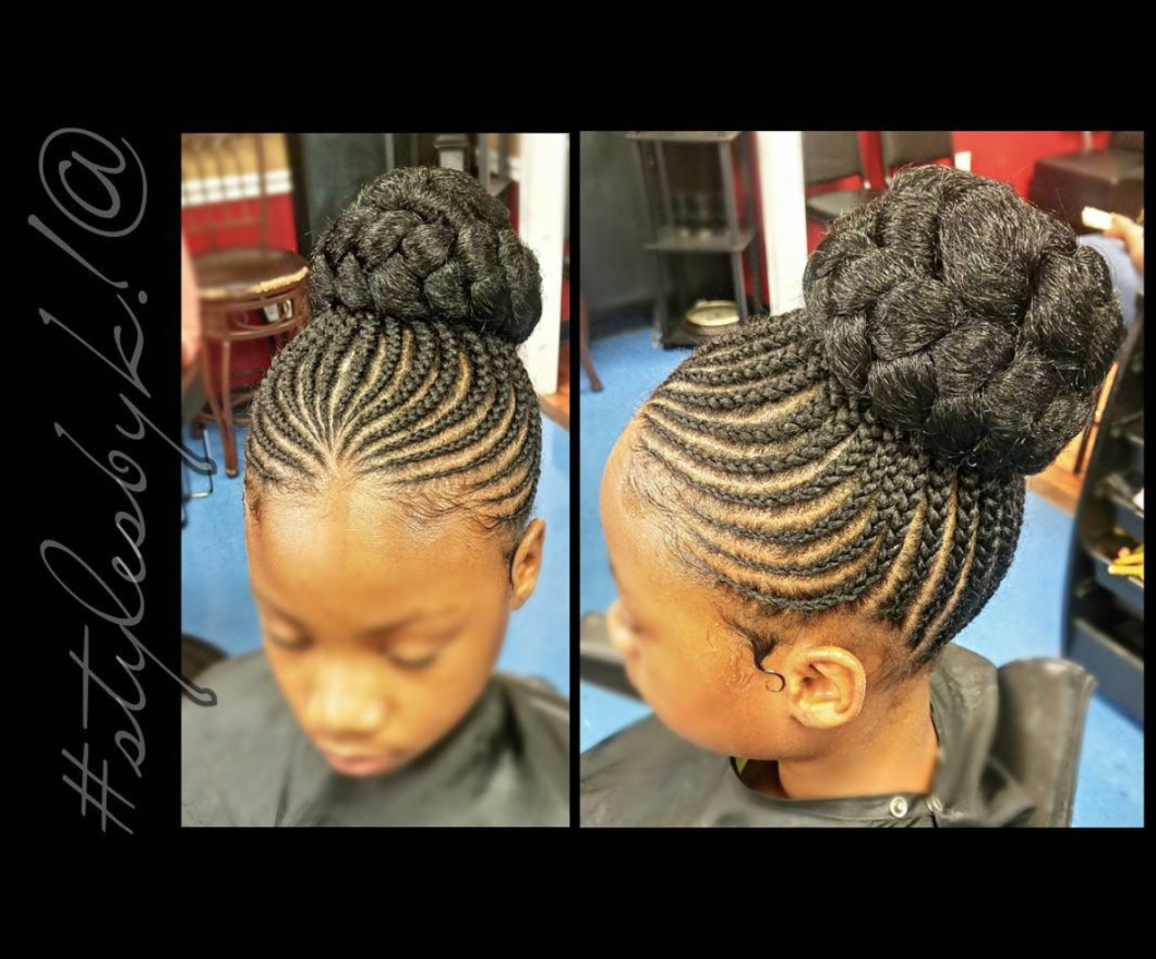 Flawless Braided Updo By Kiabia87 Black Hair Information
