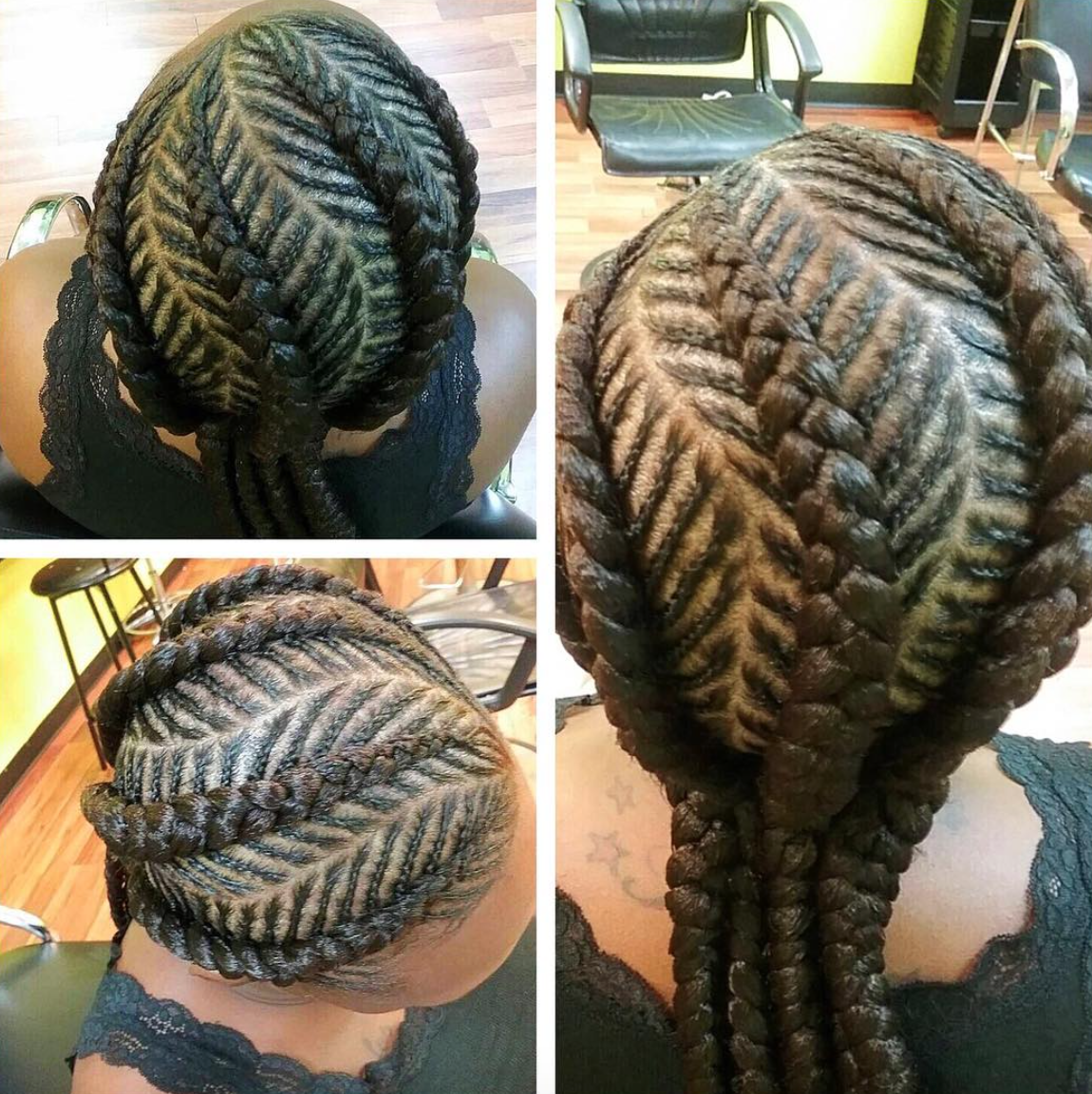 Nice Braids Via Narahairbraiding Black Hair Information