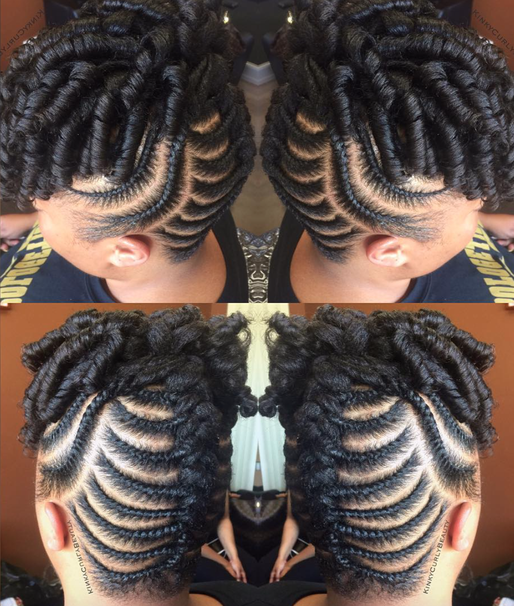 Gorgeous updo by @kinkycurlybeauty - Black Hair Information