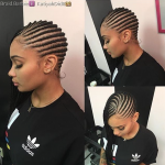 Dope braids via @braid.barbie