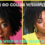A Day Into My Wash n Go + Collab