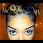 Bantu Knots On Natural Hair