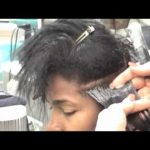 Better Or Worse Than A Relaxer? Japanese Straightening Retouch on Black Hair Texture [Video]