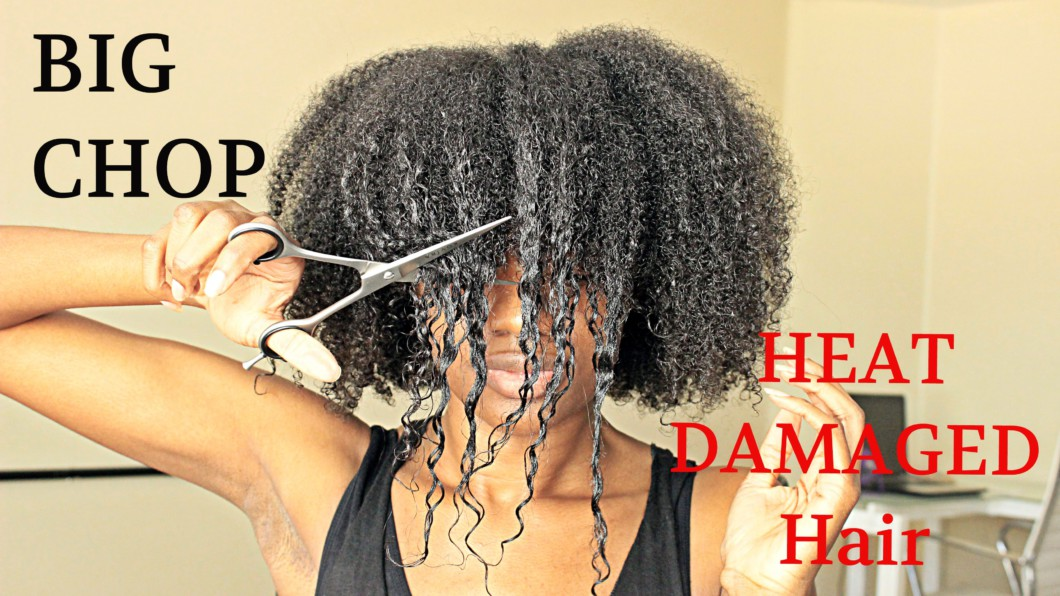 Big Chop 2016 On My Heat Damaged Hair Video Black Hair