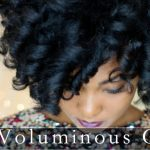 Big Voluminous Curls on Natural Hair