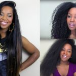 Blow Dry And Flat Iron Natural Hair [Video]