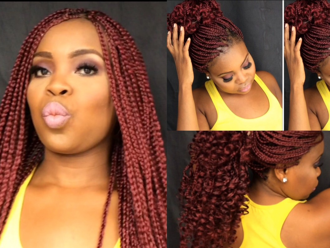 Box Braids Natural Hair Tutorial