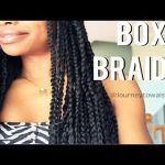 Box Braids shared by JourneyToWaistLength