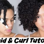 Braid and Curl Tutorial on Natural Hair with Hair Yum [Video]