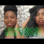 Braided Bun On Crochet Braids [Video]
