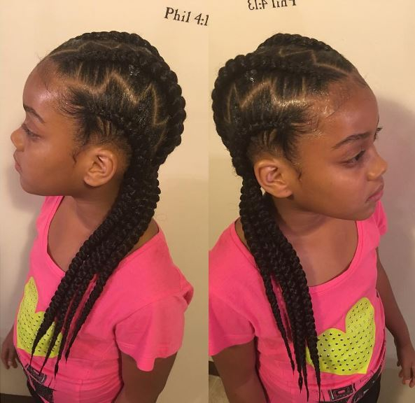 8 Really Cute Braid Styles For Your Pre Teen Or Teenager By Jlowedabraider Gallery Black