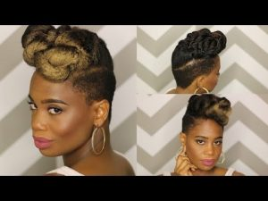 Weaves and wigs videos archives page 13 of 37 black hair classic updo using clip ins from knappy hair extensions video pmusecretfo Choice Image