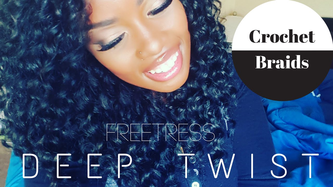 Crochet Freetress Deep Twist Start 2 Finish Video