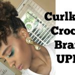 Curlkalon Crochet Braids Updo [video]
