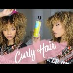 Curly Hair Routine | Wash N' Go ft. Blueberry Bliss [Video]