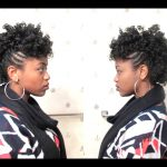 Curly Mohawk on 4C Natural Hair [Video]
