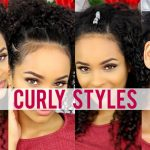 Cute Curly Hairstyles For School [Video]