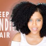 Deep Conditioning Routine For Frizzy & Dry Natural Hair  [Video]