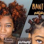 Defined Bantu Knot Out Breakdown | Short/Medium Natural Hair [Video]