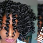 Defined Flexi Rod Set On Natural Hair [Video]