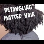 DETANGLING MATTED TANGLED DRY (4b/4c) NATURAL HAIR [Video]