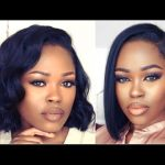 DIY Blunt Bob With A Customized Hairline Frontal Wig
