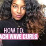 DIY: Body Wave Curls on Natural Hair [Video]