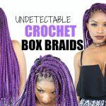 DIY Box Braids | Crochet Braids Cheat Method [Video]