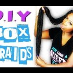 DIY Box Braids | Tutorial for Beginners | KaliKashmere