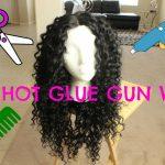 DIY Hot Glue Gun Wig For Under $20 [Video]