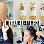 DIY Hot Oil Hair Treatment For Dry Hair [Video]