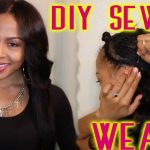 DIY Sew In Weave – No Glue [Video]