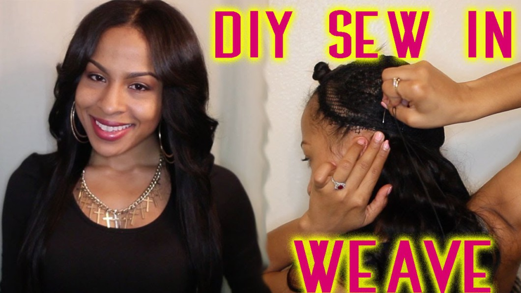Diy Sew In Weave No Glue Video Black Hair Information