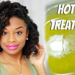 Do It Yourself | Hot Oil Treatment For Dry and Frizzy Natural Hair [Video]