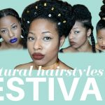 Easy Festival Hairstyles on curly/kinky hair | Curlture