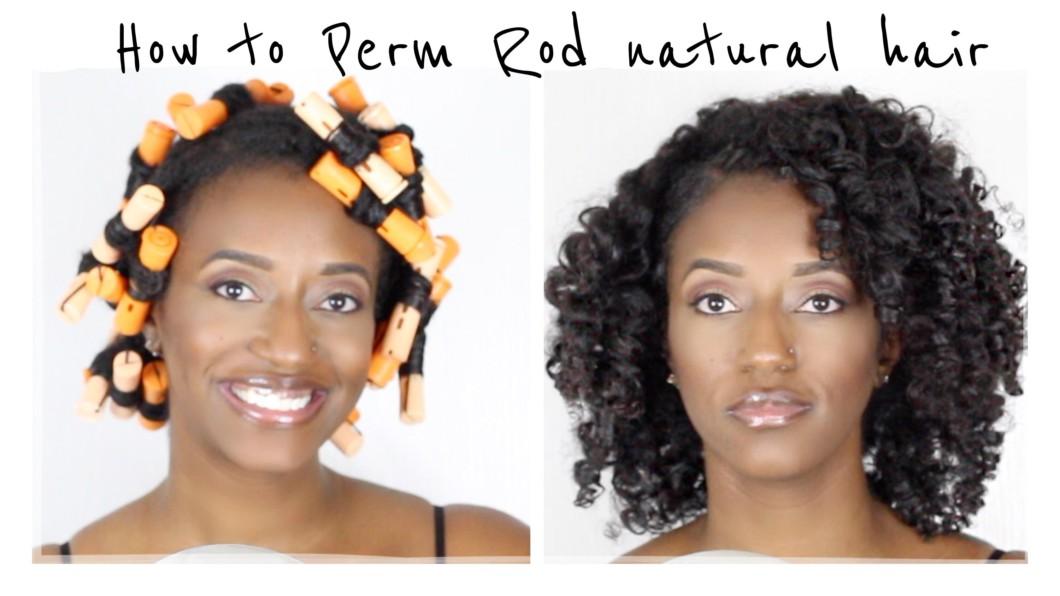 Easy Perm Rod Set Natural Hair Black Hair Information