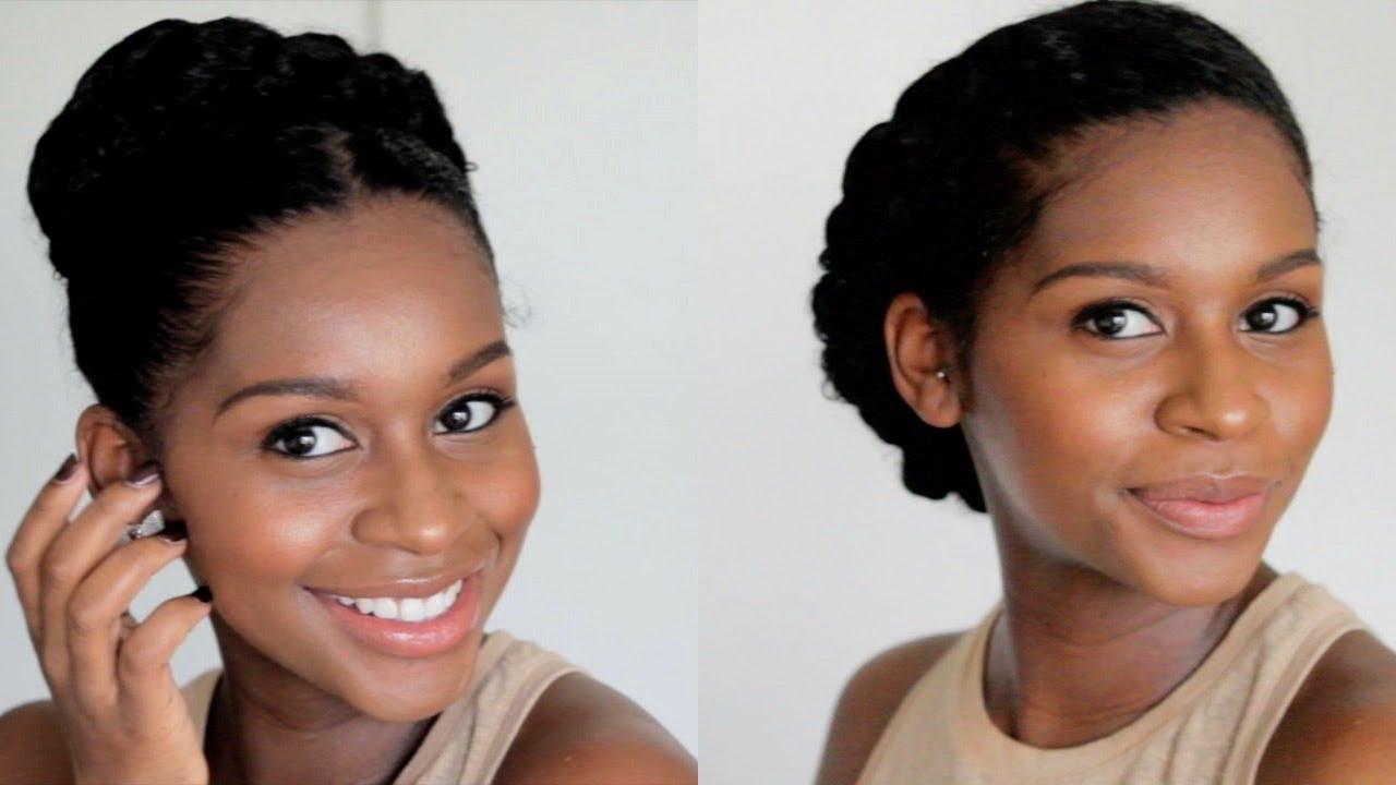 Easy Protective Styles Video Black Hair Information