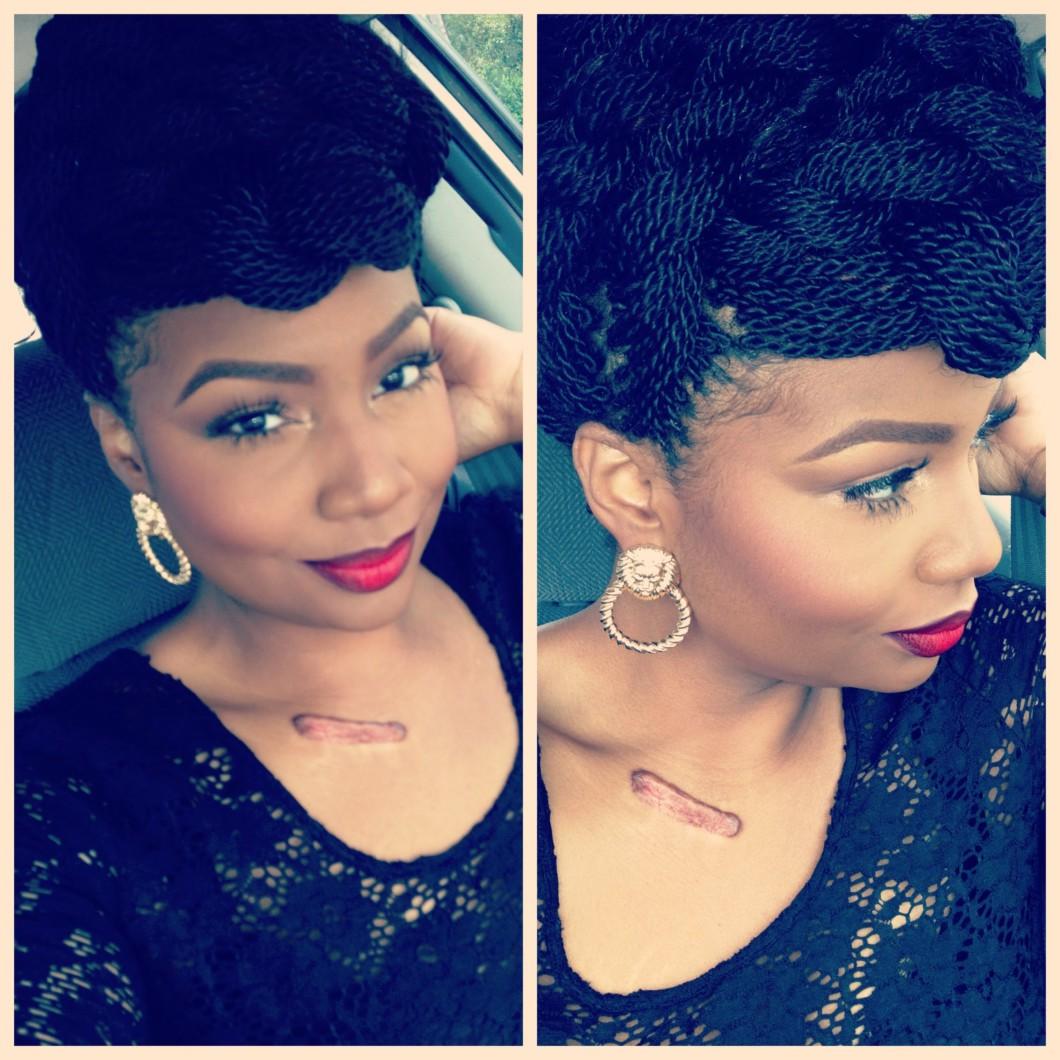 Surprising Elegant Updo On Senegalese Twists Video Black Hair Information Short Hairstyles For Black Women Fulllsitofus