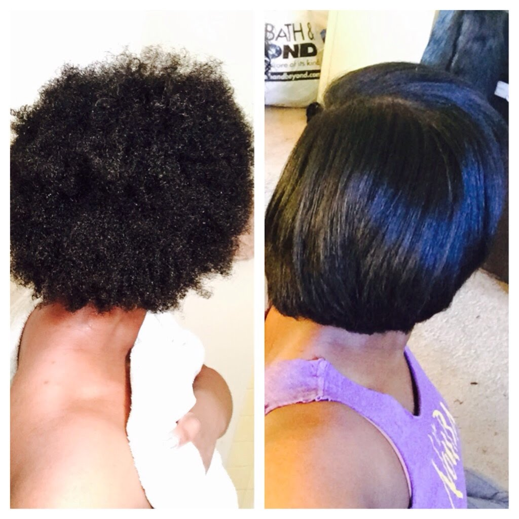 Excellent Results On 4c Natural Hair Trimmed And
