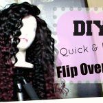 Fast & Easy DIY No Part Flip-Over Wig – Hot Glue Gun Method [Video]