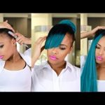 Faux Bangs Protective style from Start to finish! [Video]