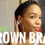 Faux Crown Braid Tutorial [Video]