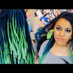 Ombre Yarn Wraps/Genie locs/Faux Dreads Tutorial