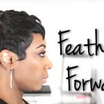 Feathered Mohawk On Short Hair | Short Hair Tutorial