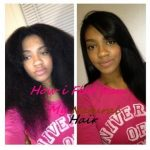 Flat Iron Tutorial On Natural Hair [Video]