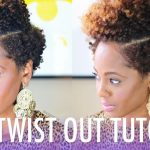 Flat Twist Out Tutorial – Cute! [Video]
